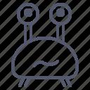 character, crab, creature, cyclop, eye, mascot icon