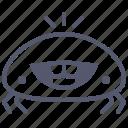 character, crab, food, happy, mascot, sea icon
