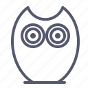 character, creature, mascot, owl icon