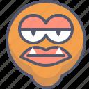 character, creature, lips, mascot icon