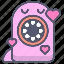 character, creature, love, mascot icon