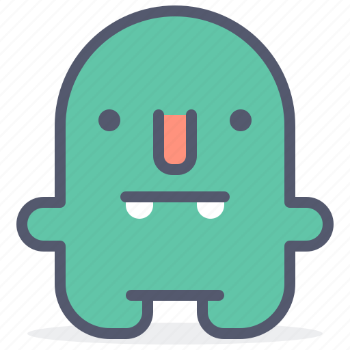 character, creature, mascot, rednose icon