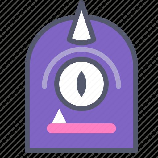 character, cyclops, horn, minion, unicorn icon