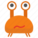 character, crab, creature, cyclop, eye, mascot icon
