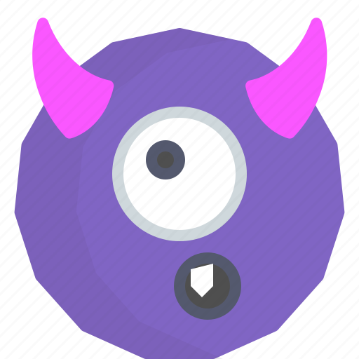character, creature, cyclop, mascot icon