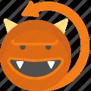 character, creature, devil, dracula, mascot, vampire icon