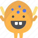 character, creature, egg, mascot icon