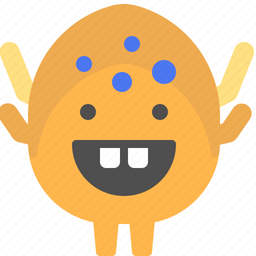 character, creature, egg, mascot icon