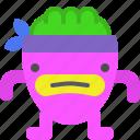 character, creature, karate, mascot icon