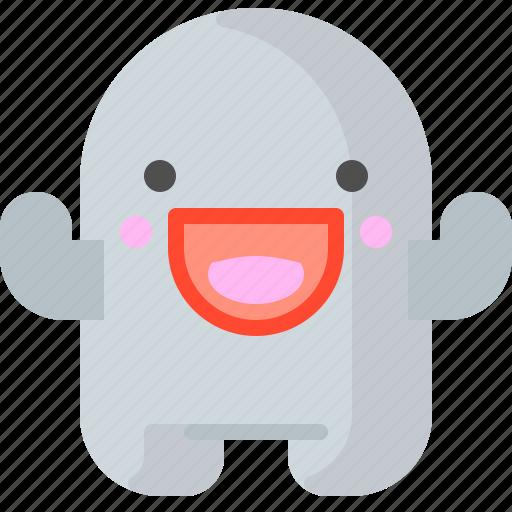 character, creature, laugh, mascot icon