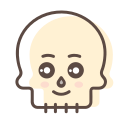 avatar, character, halloween, skeleton, skull