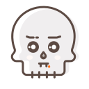 avatar, character, halloween, skeleton, skull icon