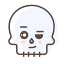 character, halloween, avatar, skull, skeleton
