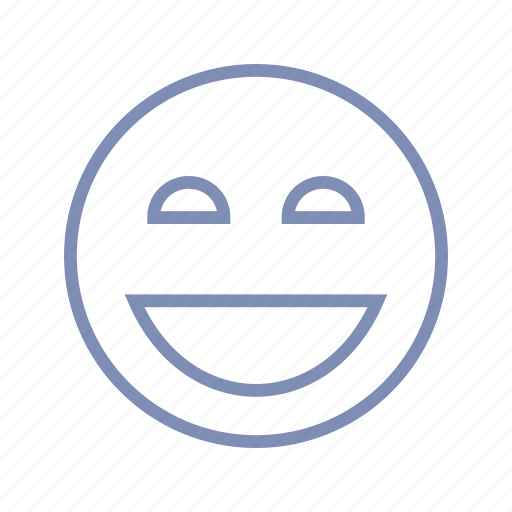 emotions, happy, joy, laugh, mood, rofl, smiley icon