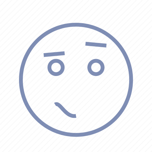 confusion, embarrassment, emotions, mood, smiley, surprised, wonder icon
