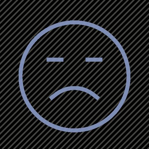 emotions, mood, sad, smiley, sorrow icon