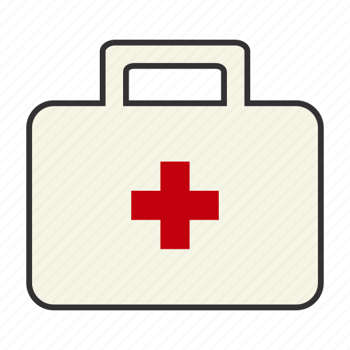 colour, doctor, first aid, first-aid, hospial, medkit, physician icon