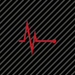 arrythmia, cardiac, ecg, ekg, heart, pulse, rhythym icon