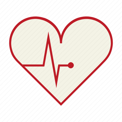 cardiac, ecg, ekg, health, heart, heart attack, pulse icon