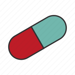 body, drugs, heal, health, infection, pill, vitamin icon