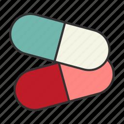 drugs, heal, health, medicine, physician, pills, prescription icon
