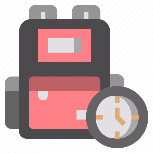 backpack, bag, baggage, bags, camping, luggage, travel icon