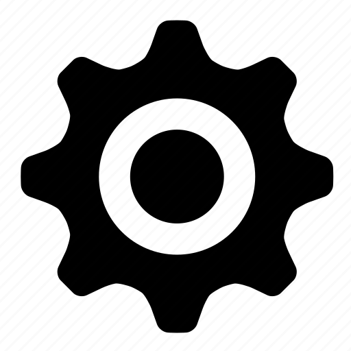 engine, gear, settings icon