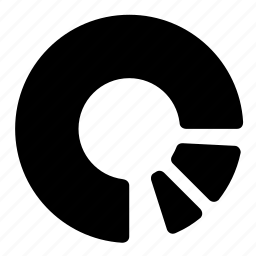 graphic, piechart, results icon