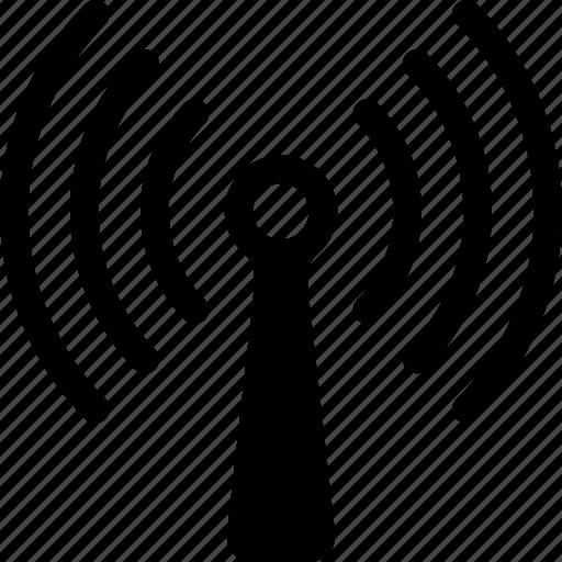 antena, signal, wi-fi, wireless icon