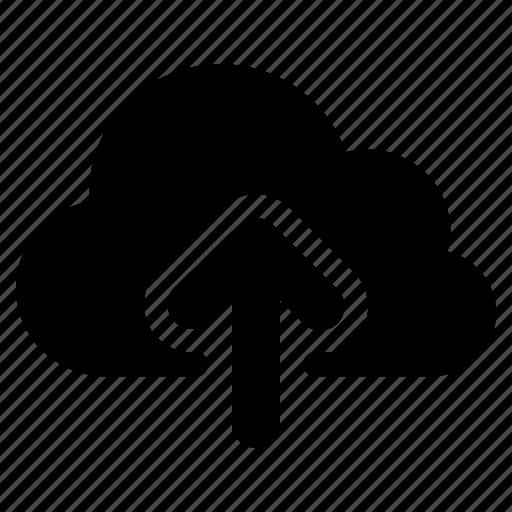 cloud, data, remote, upload icon