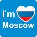 am, capital, city, i, love, loving, moscow icon
