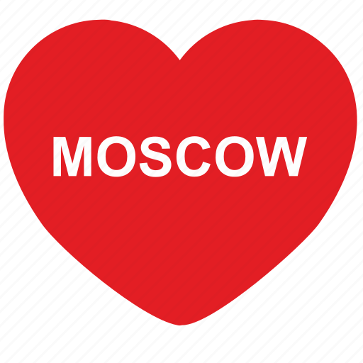 capital, city, love, moscow, passion, russia, sweet icon