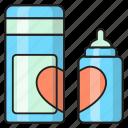 baby, bottle, drink, feeder, milk