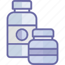 bottle, food bottle, food container, jam jar icon
