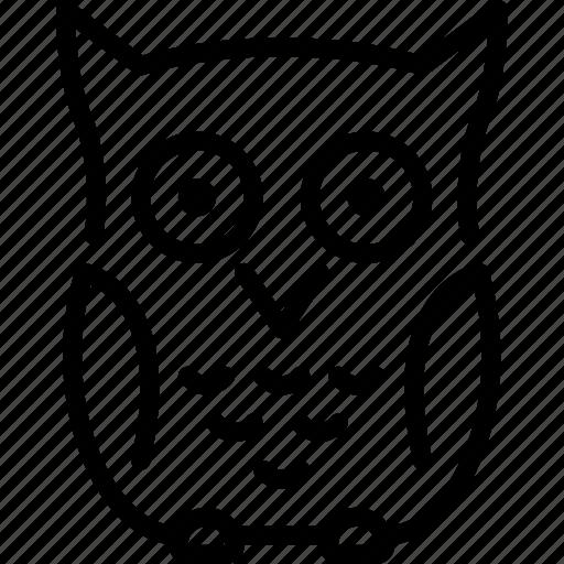 bird, knowledge, nature, owl, philosopher, philosophy, wisdom icon