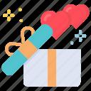 gift, love, mom, present icon