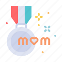 day, medal, mom, mothers, winner, champion, mother icon