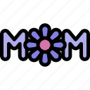 happy, love, mom, mother, mother's day icon