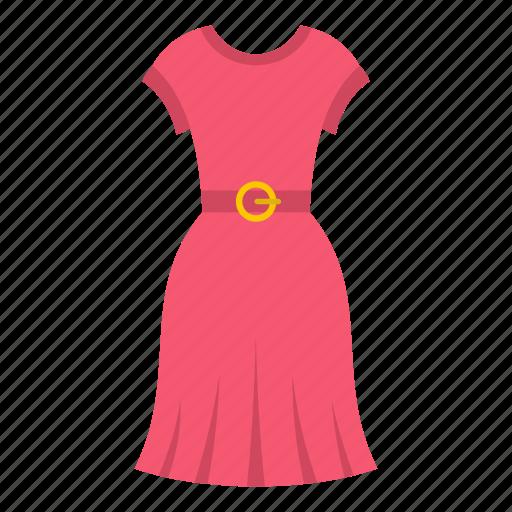 dress, fashion, female, girl, model, pink, woman icon