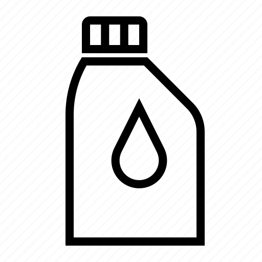 can, cooling water, lubrication oil, motorbike parts icon