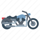 biker, crusiers, motorcycle, transportation, vehicle icon