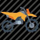 biker, enduro, motorcycle, transportation, vehicle icon