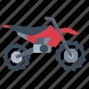 biker, motocross, motorcycle, transportation, vehicle icon