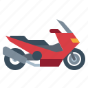biker, motorcycle, scooter, transportation, vehicle icon