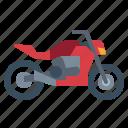 biker, motorcycle, power, transportation, vehicle icon