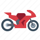 biker, motorcycle, race, transportation, vehicle icon