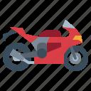 biker, motorcycle, sports, transportation, vehicle icon