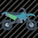 biker, motorcycle, supermoto, transportation, vehicle icon