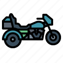motorcycle, transportation