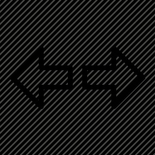 arrow, direction, indicator, left, motorcycle, signal, turn icon